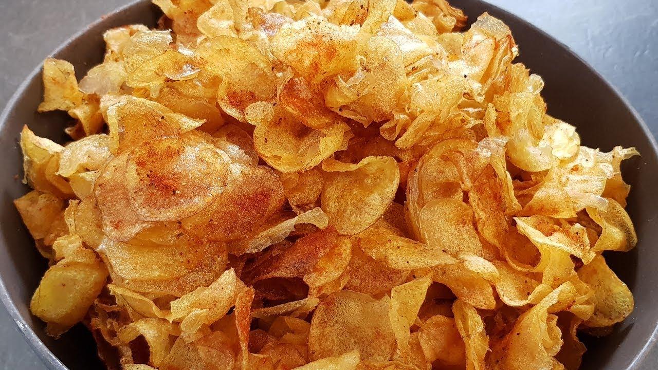 chips selber machen mori kocht kartoffelchips youtube. Black Bedroom Furniture Sets. Home Design Ideas