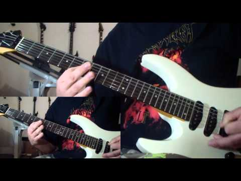 Malevolent Creation - Eve of the Apocalypse (guitar cover)