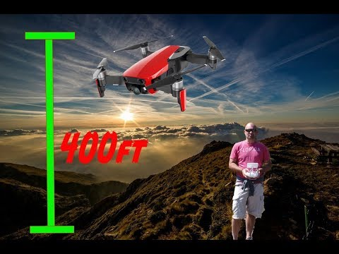 New UK Drone Law: 400ft Clarified by CAA & Other rules