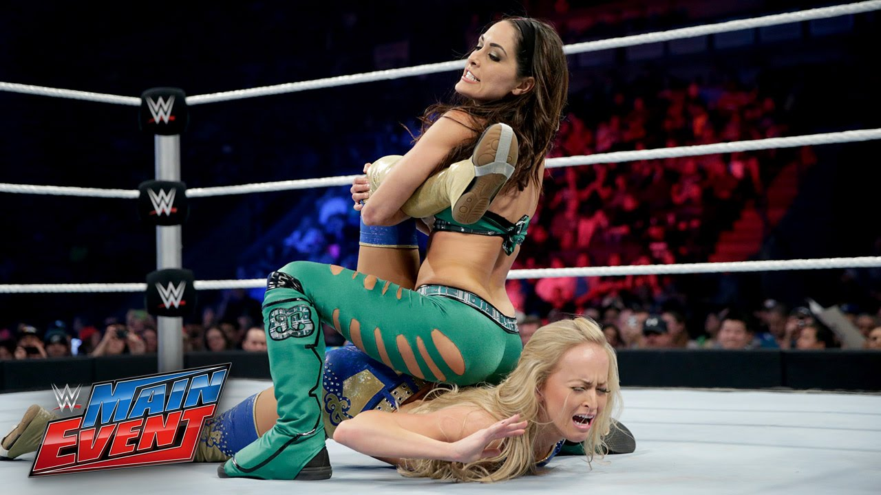 Summer Rae vs. Brie Bella: WWE Main Event, February 7, 2015