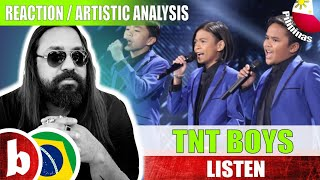 Rock Singer Reacts TNT BOYS! WORLD'S BEST 2019