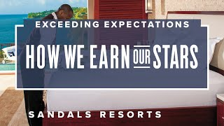 "Sandals Resorts - ""How We Earn Our Stars Everyday, Exceeding Expectations"" Commercial"