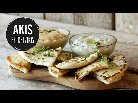 Greek Pita Bread | Akis Kitchen