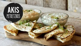 Greek Pita Bread | Akis Kitchen(, 2015-10-01T09:00:00.000Z)