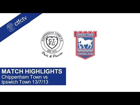 CTFC vs Ipswich Town Full Match 13/7/13