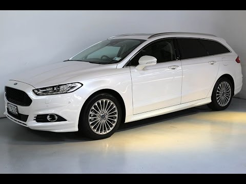 2016 Ford Mondeo Anium Station Wagon Team Hutchinson