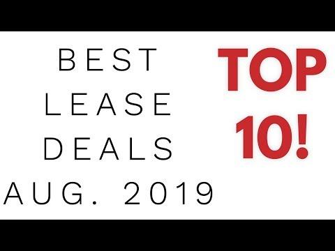 Best Car Lease Deals - August 2019