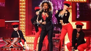 fleur east sings lady marmalade live week 3 the x factor uk 2014