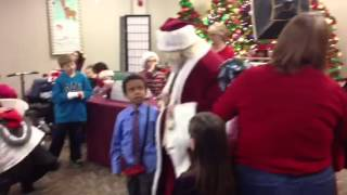 12/16/12 - Jayden Sings with Santa at Shadow Lake Towne Center ( @ShopShadowLake )