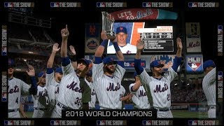 MLB: The Show 18 - New York Mets World Series Celebration