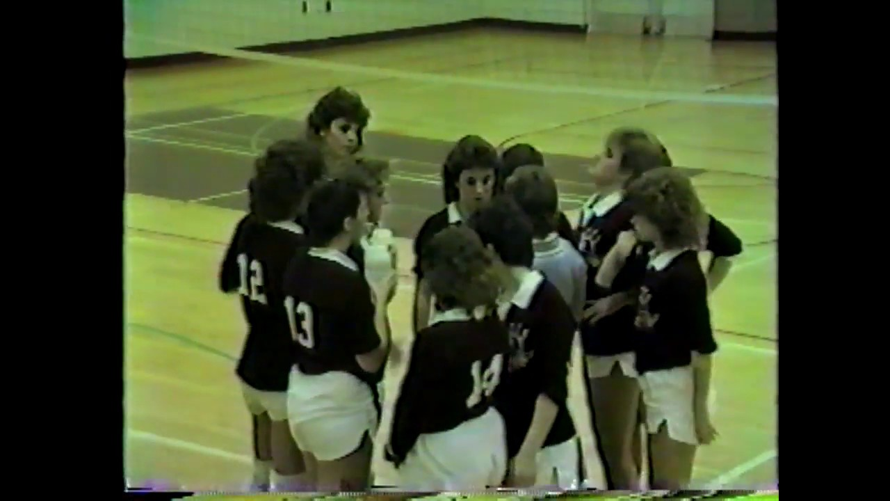 NCCS - Plattsburgh Volleyball  11-18-85