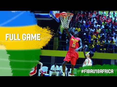 Egypt v Angola - Full Game - Final - 2016 FIBA Africa U18 Championship