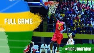 Egypt v Angola - Full Game - Final - 2016 FIBA Africa U18 Championship