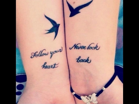 best friend quotes tattoo - YouTube