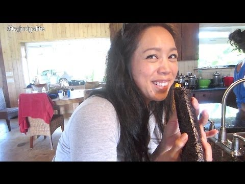 Trying RAW! - November 02, 2013 - itsJudysLife Vlog