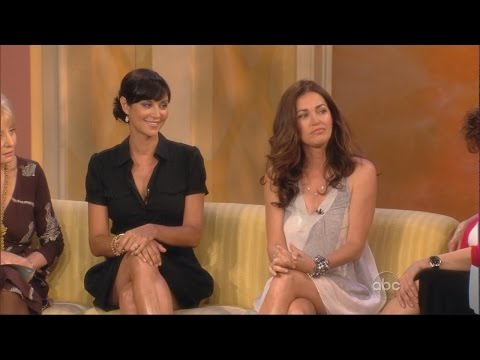 Catherine Bell  Kim Delaney  On The View  16.06.2008