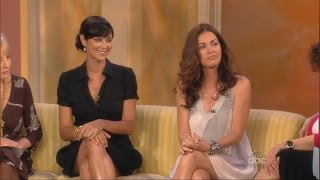 Catherine Bell | Kim Delaney | On The View | 16.06.2008