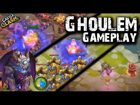 Castle Clash Ghoulem Crazy Gameplay!