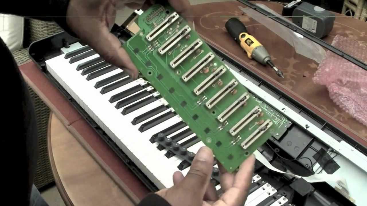 M Audio Axiom Keyboard Repair Youtube Midi Wiring Diagram