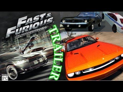 Fast & Furious Showdown Gameplay Trailer PC HD
