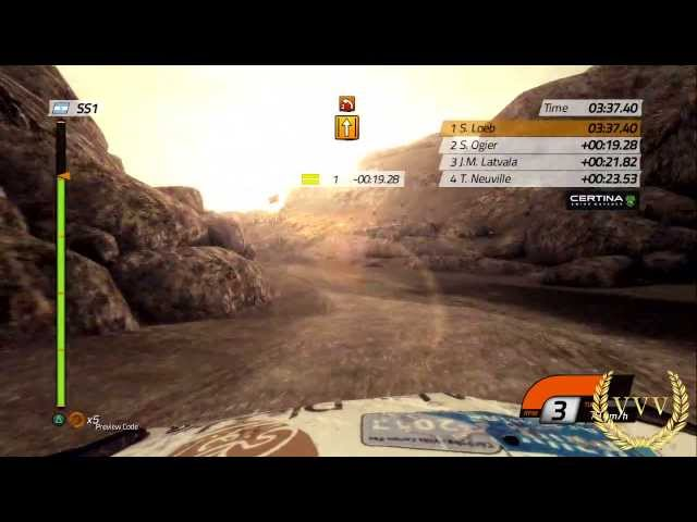 WRC 4 Argentina - Dusk