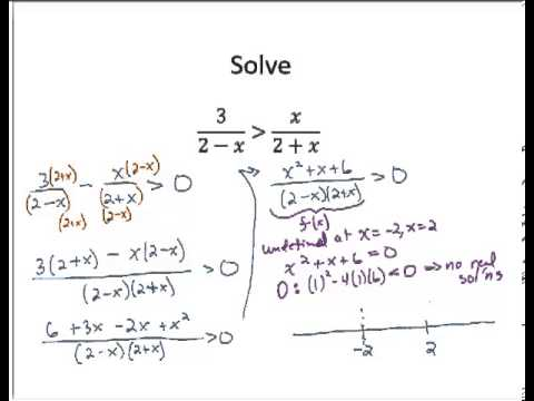 solving inequalities with fractions pdf