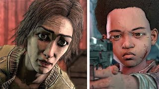 Tell AJ to Shoot Lily VS Tell AJ Stand Down - THE WALKING DEAD Game Season 4 Episode 3
