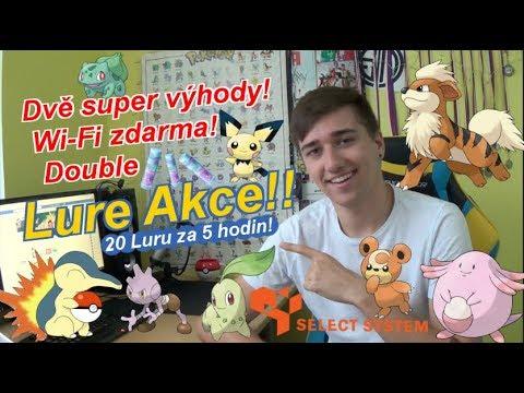 Pokémon GO | LURE AKCE! Už teď ve středu! Wi-Fi na místě! | Jakub Destro
