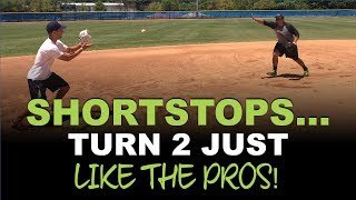 EVERYTHING You Need to Know To TURN 2 From SHORTSTOP Like A Pro!  [The Double Play from SS]