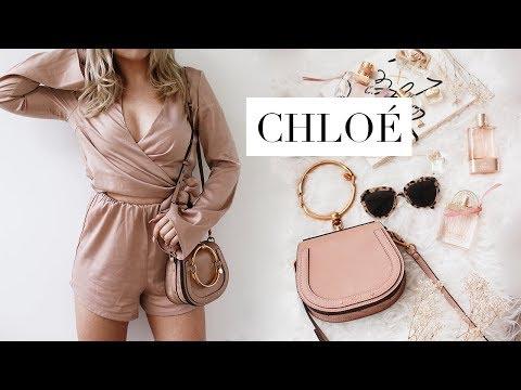 d6a4f689f0 WHAT'S IN MY BAG   Chloé Nile Designer Bag - YouTube