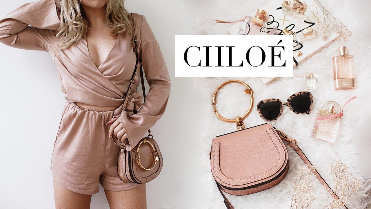 6aa8e8a38e WHAT'S IN MY BAG | Chloé Nile Designer Bag