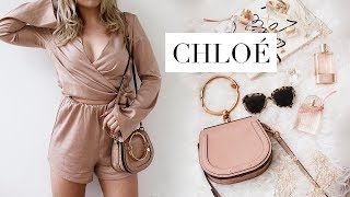 WHAT'S IN MY BAG | Chloé Nile Designer Bag