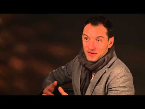 The Grand Budapest Hotel: Jude Law On Set Movie Interivew