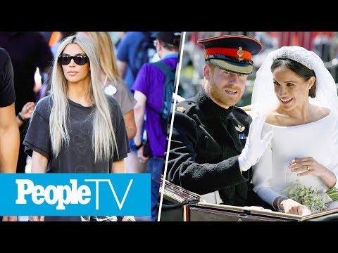 Kim Kardashian In Disneyland, Prince Harry & Meghan Markle's Reception Speeches | PeopleTV