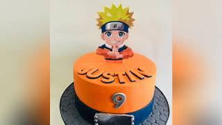 Cute Naruto Birthday Cake Ideas This might be your inspire