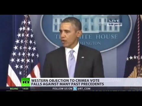 Western objection to Crimea referendum falls against many precedents