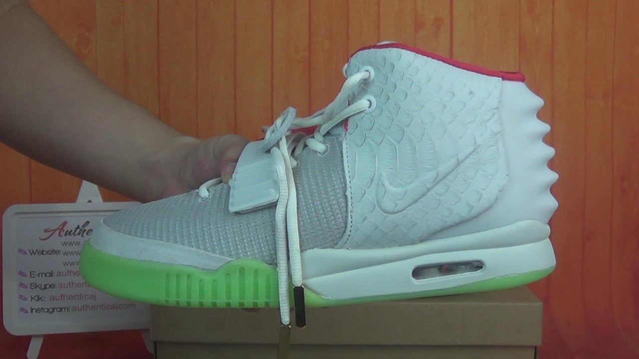 Authentic Nike Air Yeezy 2 Wolf Grey Pure Platinum HD Unboxing Review From  authenticaj