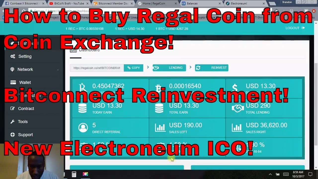 How to buy regal coin from coin exchange bitconnect reinvestment how to buy regal coin from coin exchange bitconnect reinvestment electroneum ico bitcoin bran ccuart Choice Image