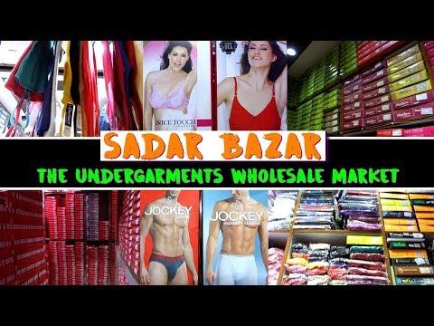 Undergarments Wholesale Market in Delhi, Ladies & Gents Innerwear, Pratap Market, Sadar Bazar