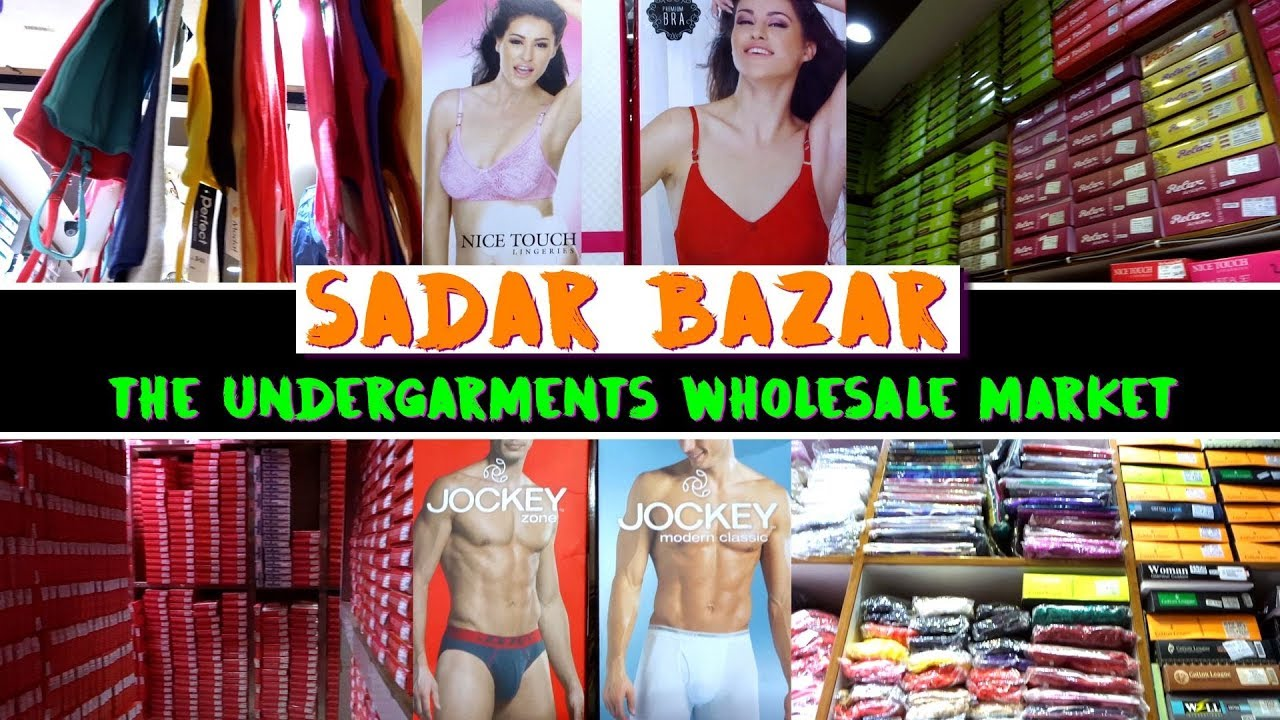 Undergarments Wholesale Market in Delhi 396fc608c