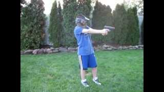 shooting review of the h p30 spring airsoft pistol