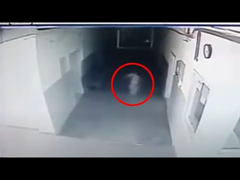 Ghost Capture On Surveillance Camera At Police Station In Trstenik, Serbia