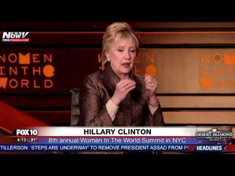 WATCH: Hillary Clinton Speaking At 'Women In The World Summit' (FNN)
