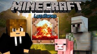 COMANDO BOMBA! - Minecraft - [LuzuGames]