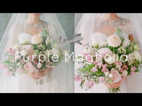 Purple Magnolia Wedding Florist Charleston SC