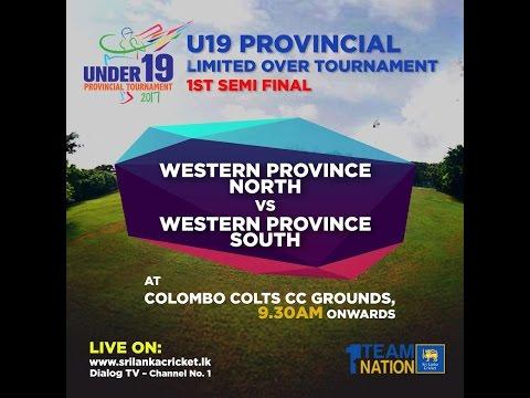 U19 Provincial Tournament Semi Final - WP North vs WP South