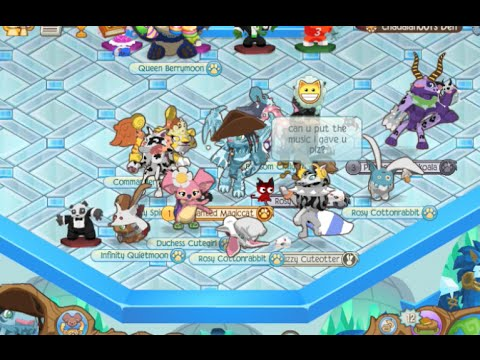 Animal Jam Dance Party with Jammers
