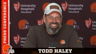Todd Haley: We gotta make plays on 3rd down | Cleveland Browns