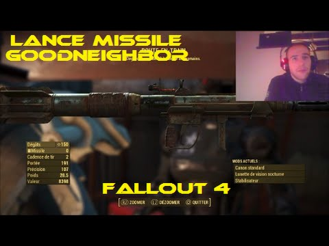 Fallout 4 - Localisation lance missile goodneighbor