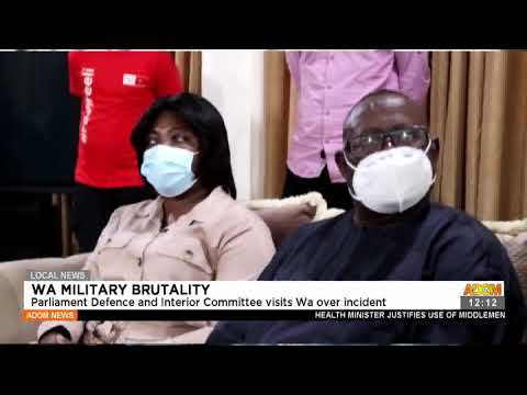 WA Military Brutality: Parliament Defence and Interior Committee visits WA over incident(16-7-21)